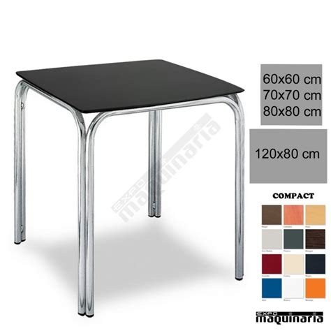Mesa terraza hosteleria 3R82CO apilable