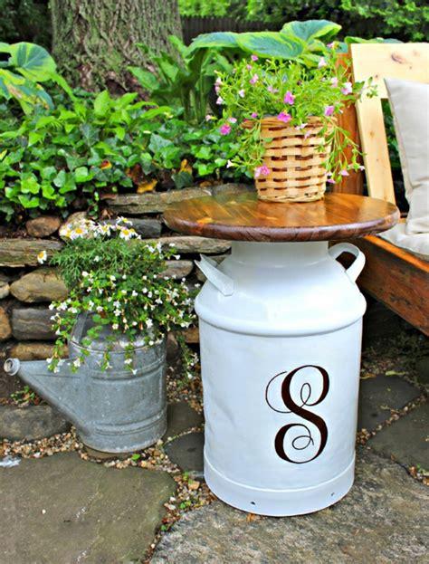 Mesas para terraza DIY   inspírate para crear la tuya propia
