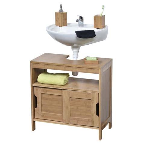Meuble sous lavabo en bois   Achat / Vente Meuble sous ...