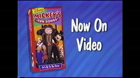Mickey s Fun Songs: Let s Go to the Circus! Short Promo ...