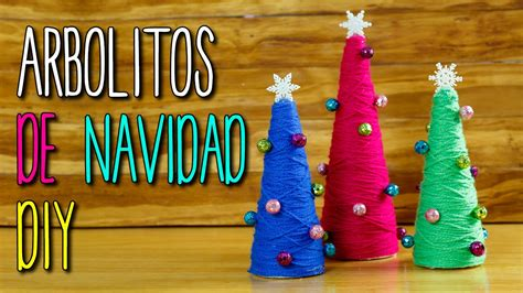 Mini Arbolitos de Navidad Creativos para Decorar ...