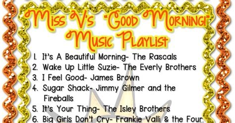 Miss V s Classroom Music Playlist!   The Enthusiastic Class
