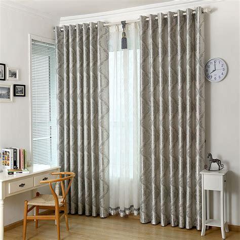 Mistura de algodão cortina decoração Home moderna Cortinas ...