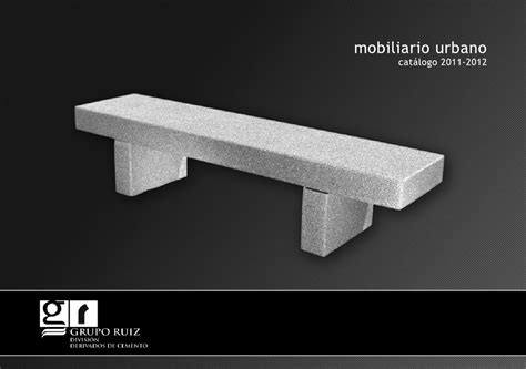 Mobiliario Urbano 2012 by Terrazos Ruiz   issuu