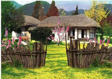 Modelo De Jardines Para Casas De Campo Grandes En El ...