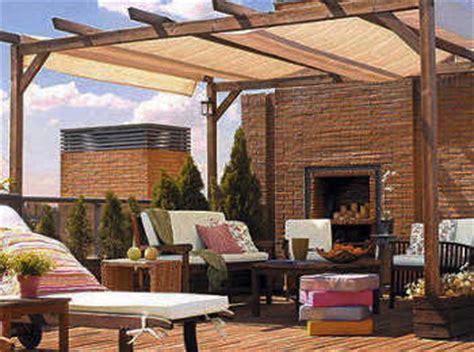 Modelos de toldos para decorar la terraza   Terraza ...