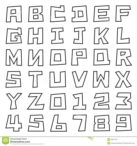 Molde de Letras para Imprimir   Artesanato Passo a Passo!