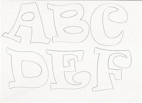 Moldes de letras en goma eva para imprimir   Imagui