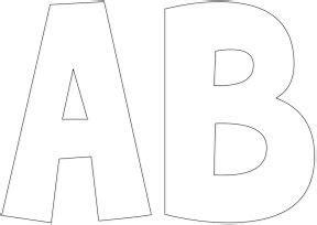 MOLDES DE LETRAS PARA IMPRIMIR | Manualidades, Alphabet ...