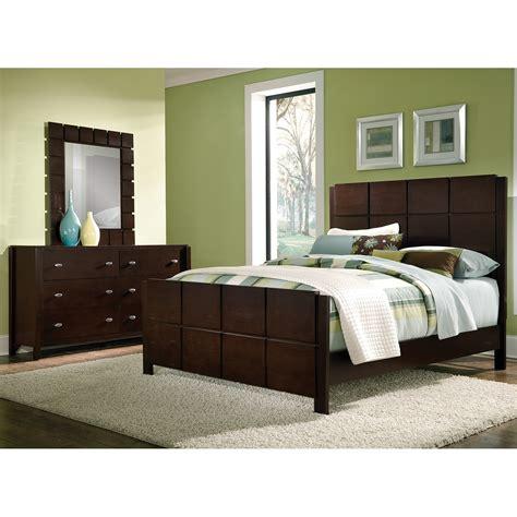 Mosaic 5 Piece King Bedroom Set   Dark Brown | American ...