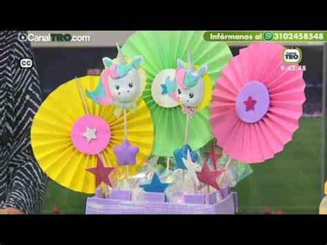 Movil de unicornios en Foami   Hecho con estilo   YouTube
