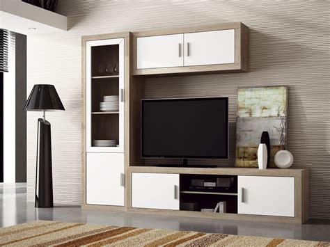 Mueble apilable de comedor moderno en blanco y grafito
