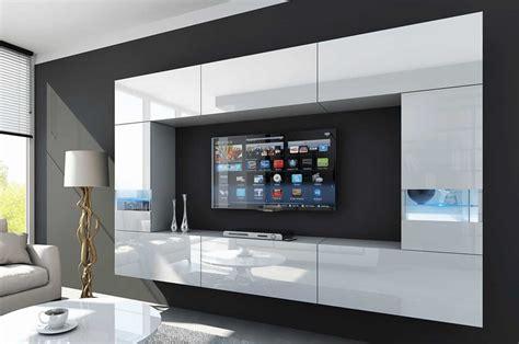 Mueble de salón FUEGO blanco brillante – Prime Home España ...