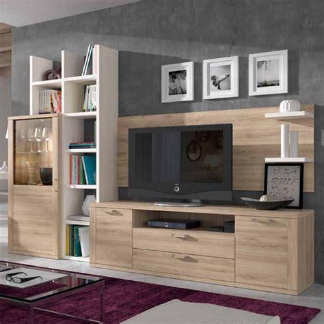 Mueble para tv con texturas
