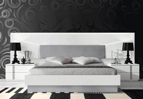 muebles de dormitorio de matrimonio, cabecero blanco plata