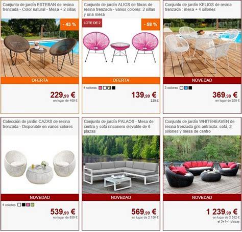 Muebles de jardín 2018 online, a precios baratos y de diseño