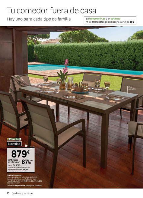 Muebles de Jardín en catálogo Leroy Merlín 2018   iMuebles