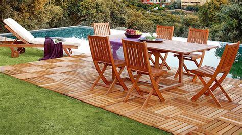 Muebles de jardín Leroy Merlin 2016