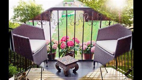 Muebles de patio para balcones pequeños   YouTube