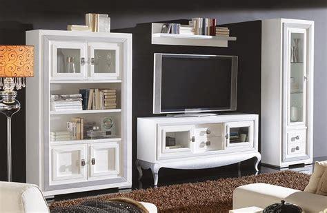 Muebles de Salón Comedor con Vitrina y Mueble TV