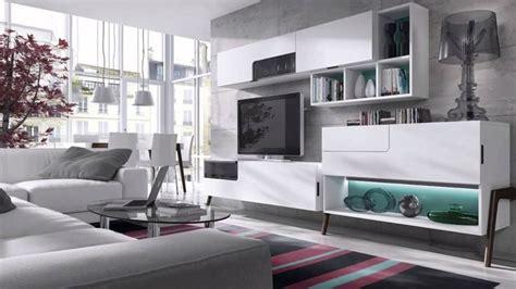 Muebles de salón modernos blancos   YouTube
