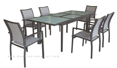 Muebles de Terraza / sillas y mesas / Colección Gandia