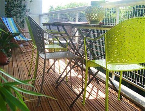 muebles forja para balcones pequeños | Hoy LowCost