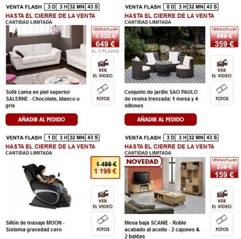 Muebles online: ahorra un 70% con las ventas flash de ...