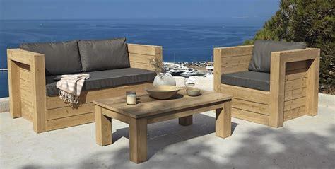 Muebles para la terraza