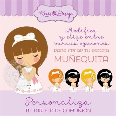 Muñequita Personalizada de Comunión para tarjetas y kits ...