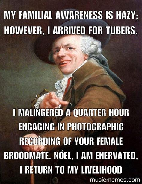 Music Memes | Music Memes | Funny Memes | Joseph Ducreux