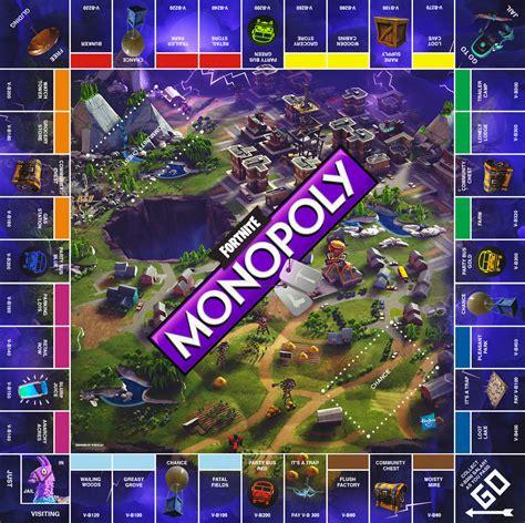 My Fanmade Fornite Monopoly board! : FortNiteBR