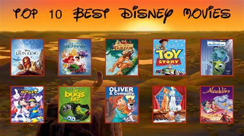 My Top 10 Best Disney Movies by BeeWinter55 on DeviantArt