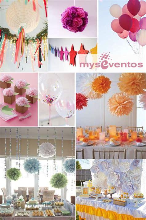 Myseventos Los 5 indispensables en decoración de fiestas y ...