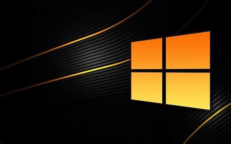 Naranja y negro Windows 8 fondos de pantalla gratis