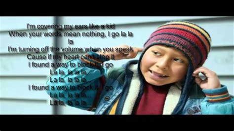 Naughty Boy ft Sam Smith   La La La Lyrics   YouTube