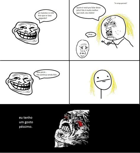 Nerd Estudante: Troll Face