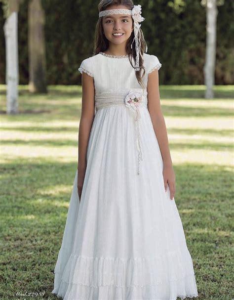 Niña   Vestido de Comunión en Madrid   Nathaly Novias