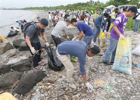 "Noda Supported International Coastal Clean Up ""Let's Clean ..."