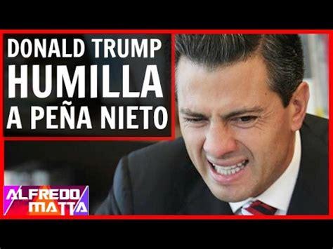 NOTICIA ULTIMA HORA! Donald Trump Humilla y Maltrata a ...