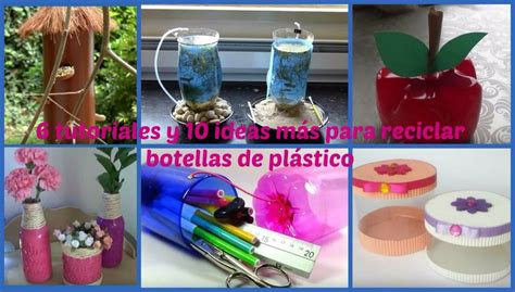 objetos con botellas recicladas | facilisimo.com