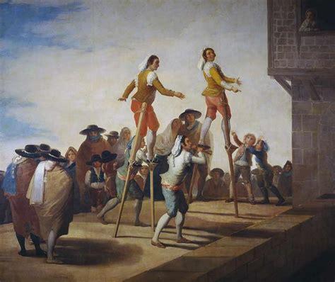 Obra de Arte   Los zancos   Francisco de Goya y Lucientes