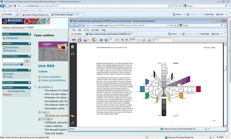 Online Interior Design Schools: Rhodec.edu