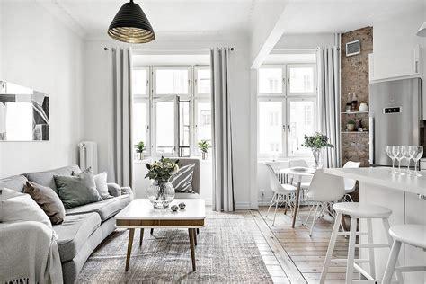 open concept mini pisos distribución diáfana diseño pisos ...