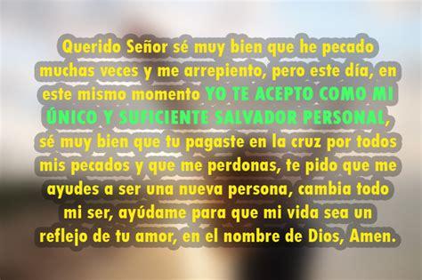Oración para aceptar a Jesucristo como tu Salvador ...