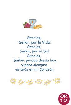 oraciones en www.nelyamano.com | Primera comunión ...