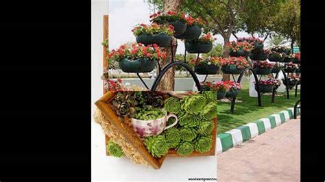 Originales ideas para decorar tu jardin - YouTube