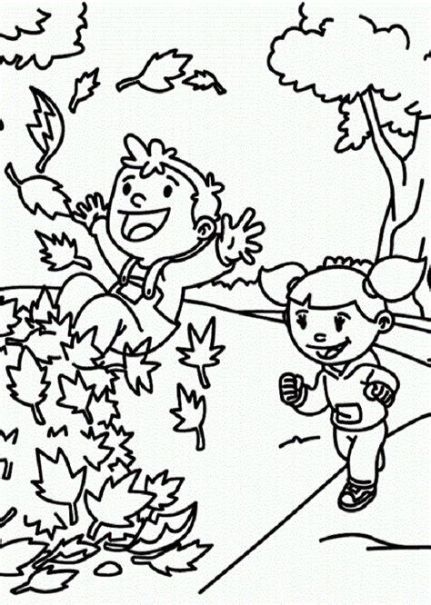 Otoño   Dibujos para colorear