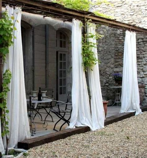 Outdoor Curtains for Porch and Patio | patio plans | Pinterest