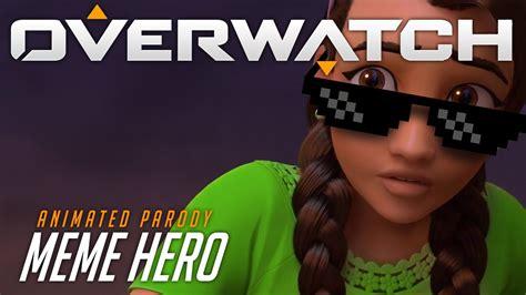 Overwatch Animated Short | Meme Hero   YouTube